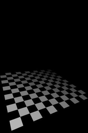 Checkered Board Stock Vector - 5993688
