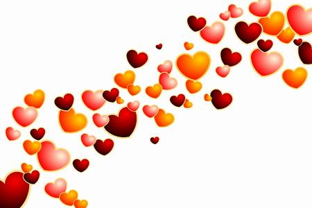 Heart Background Stock Vector - 6702981