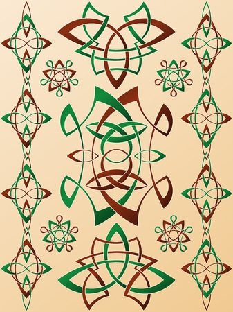 Celtic Style Ornament Stock Vector - 16540288