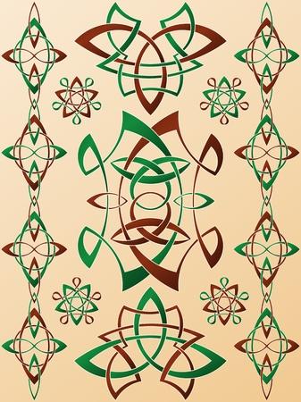 Celtic Style Ornament Stock Vector - 16540288