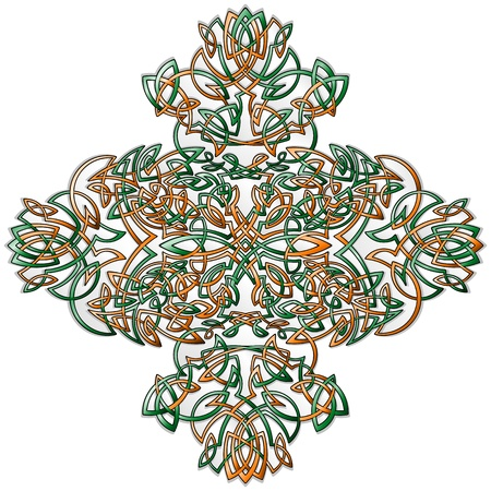 Celtic Style Ornament Stock Vector - 16581664