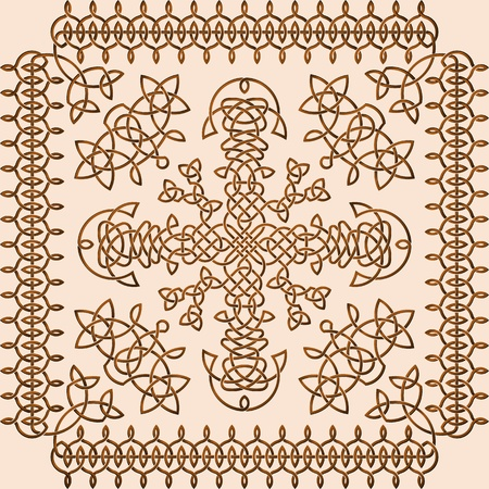 Celtic Style Ornament Stock Vector - 16947314