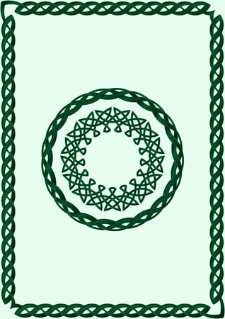 Celtic Style Ornament Stock Vector - 16947311