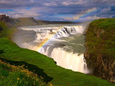 Gulfoss, Iceland  The Great Watefall
