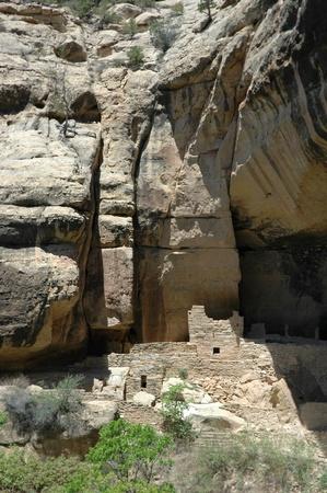 anasazi ruins: anasazi ruins at mesa verde national park