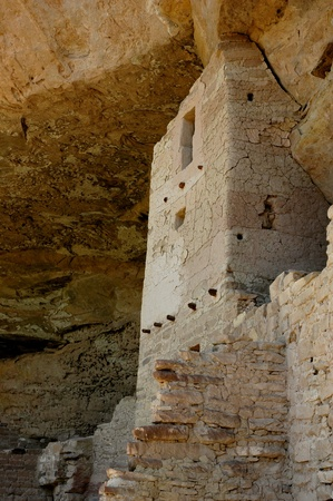 anasazi ruins at mesa verde national park colorado