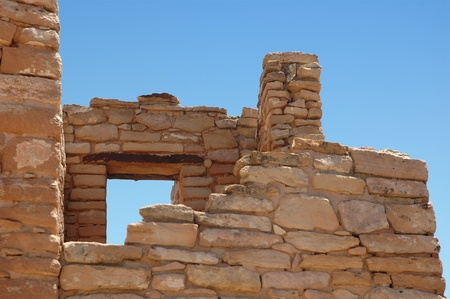 anasazi ruins: anasazi ruins at hovenweep