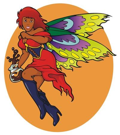 caffeine: The Espresso Fairy   The Coffee Fairy s more aggressive sister   Caffeine to the fiends