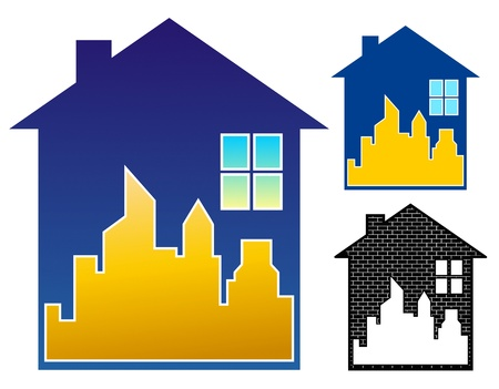 non: Realty emblem, non gradient and black only versions included