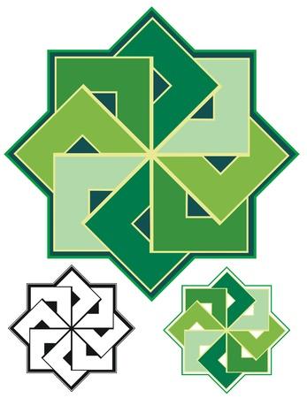 alignment: Fuerte alineaci�n de formas geom�tricas, ocho plazas