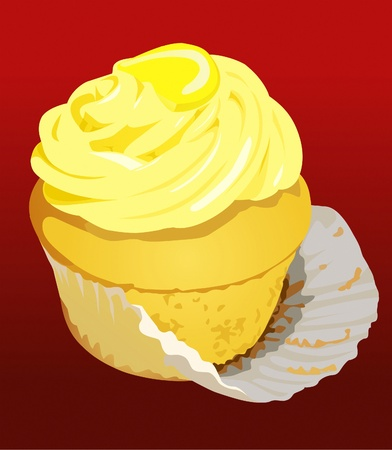 unwrapped: Sexy lemon cupcake undressing