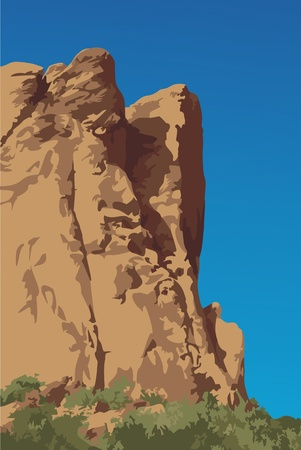 rock formation: Red sandstone cliffs of the Garden of the Gods, Colorado