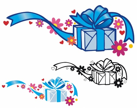 elegantly: Elegantly wrapped gift for any occasion  Comes with stencil and black outline versions