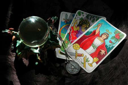 pentacle: Armamentario occulto, la mia arte Archivio Fotografico