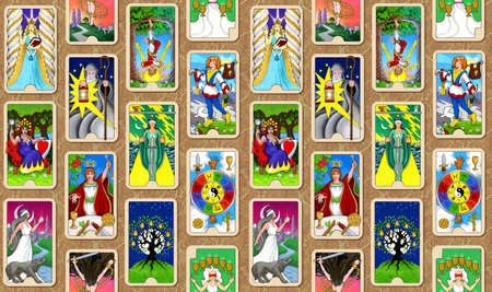 psychisch: De Hallmark Tarot wallpaper