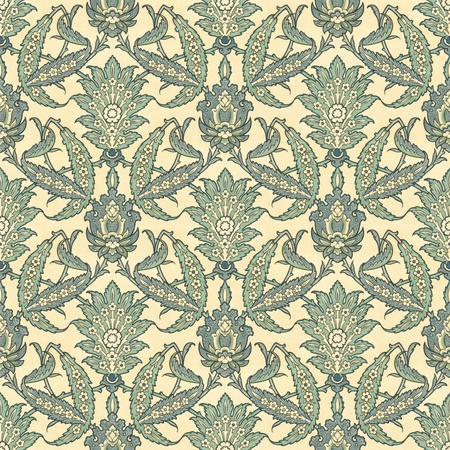 Antique Persian style seamless pattern