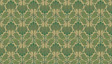 Art nouveau abstract in camoflague colors Stock Photo - 20476539