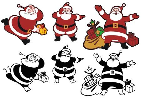 ruch: Three Santas