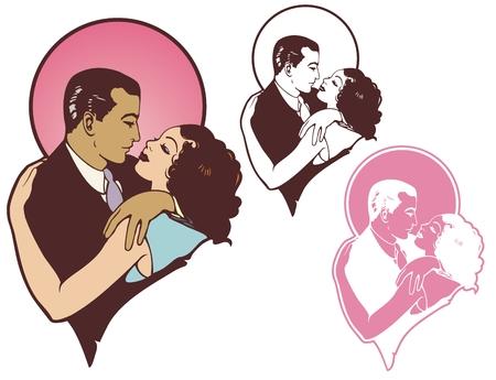 romantic: Romantic vintage Illustration