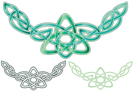 celtic design ornament Illustration