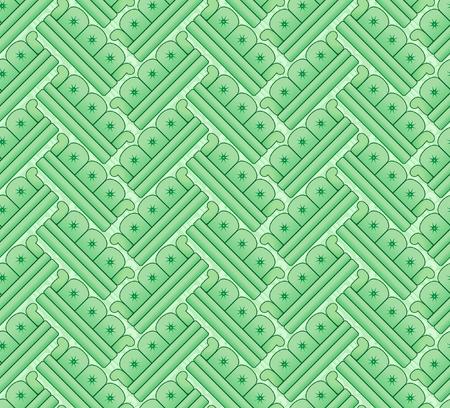 divan: herringbone pattern of sofas Stock Photo