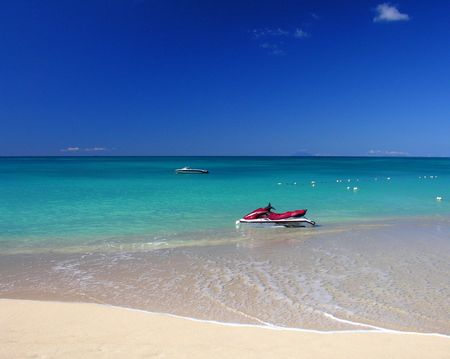 antigua: One of 365 beaches at the caribbean island Antigua...
