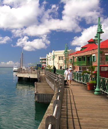 Promenade in Bridgetown  Barbados