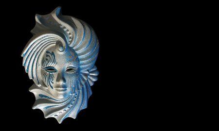historically: Venecian carnival mask...