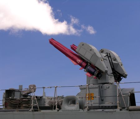 Cruise Missiles on a warship... Stock Photo - 241209