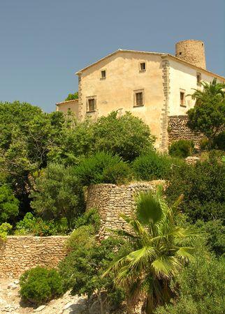 Historical cottage on the spanish island Mallorca photo