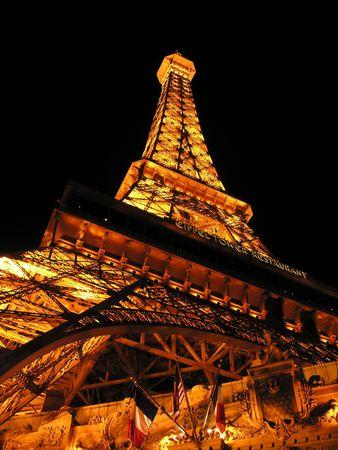 turbulence: Illuminated Hotel in Las Vegas