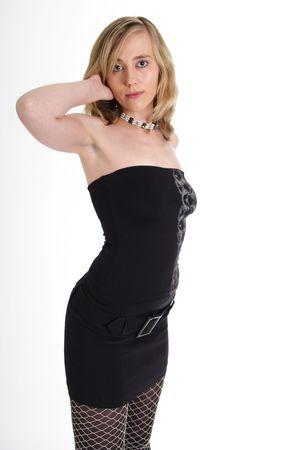 Beautiful blond woman photo