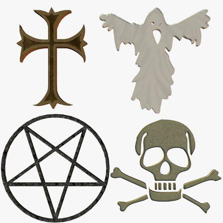 pentacle:  Symbols