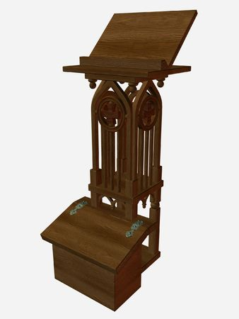 lectern: Medieval Lectern