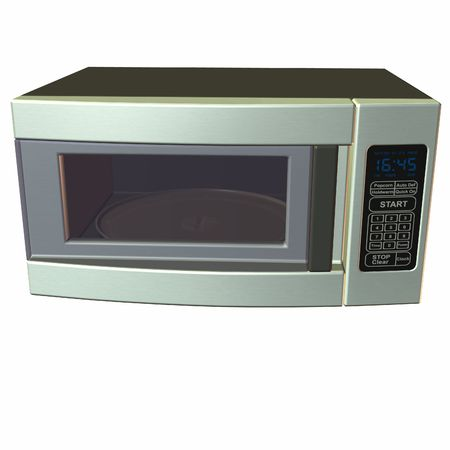 electric material: Microwave Stock Photo