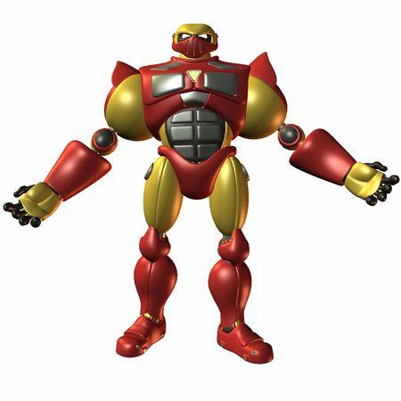 apporter: Super Bot-Just amener  Banque d'images