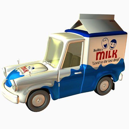 Toon Delivery Milk photo