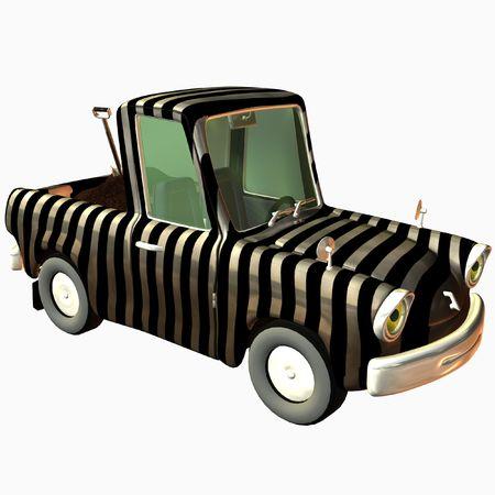 Toon Pickup Zebra photo