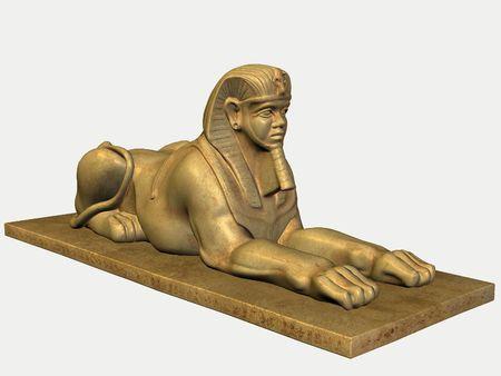 Egyptian Statue photo
