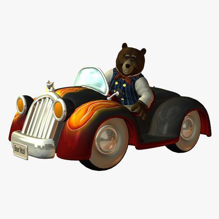 mobil: Bear Mobil Stock Photo