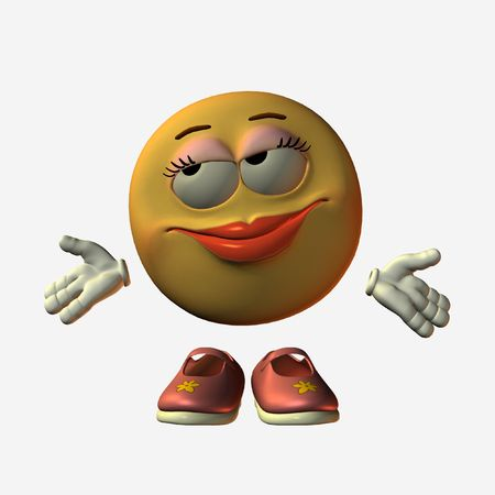 smily face: Smiley
