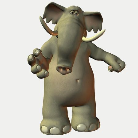 Eric the Toon Elephant photo