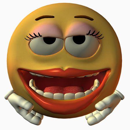 poser: Smiley Girl