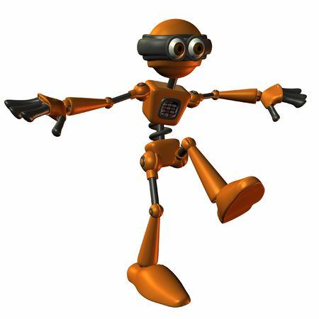 bot: Toon Bot Sparky-Balance