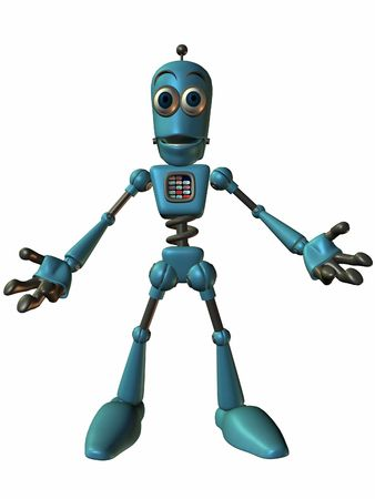 bot: Toon Bot Chip-Open Arms