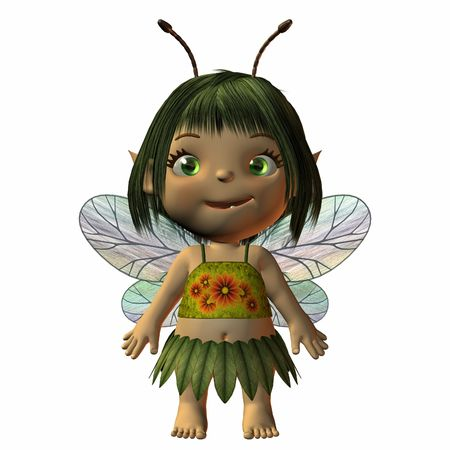 Toon -Fairy Stock Photo