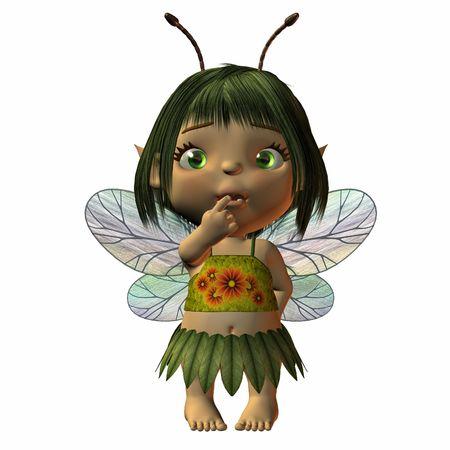 Toon -Fairy Stock Photo