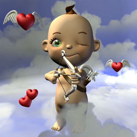 Toon Baby-Amor