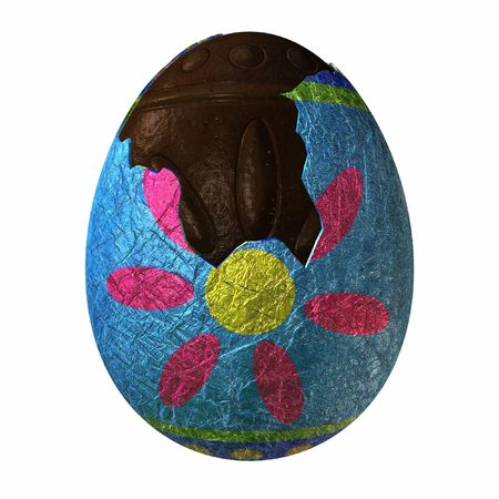customs and celebrations: Easter Egg-Chocolate