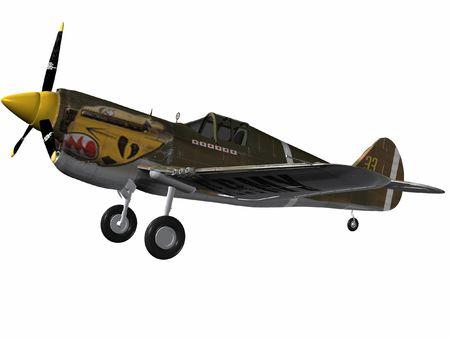 curtis: P40 Warhawk